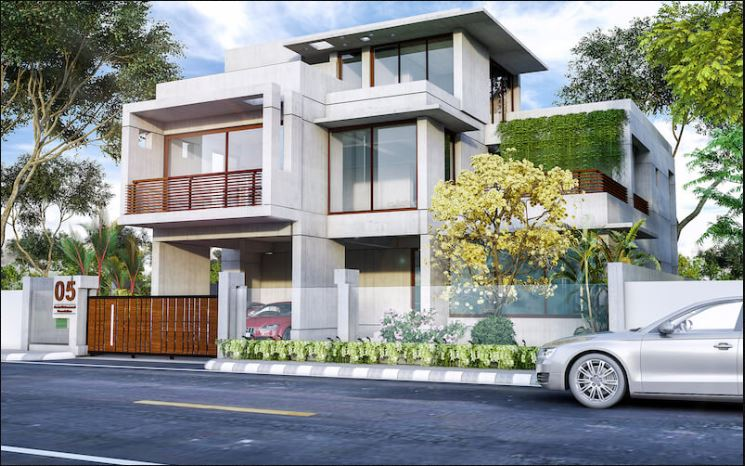 Duplex Home Design 3